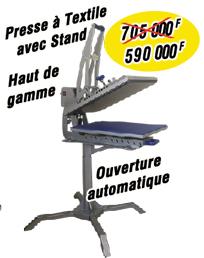 Presse-à-Textile-avec-Stand haut-de-gamme